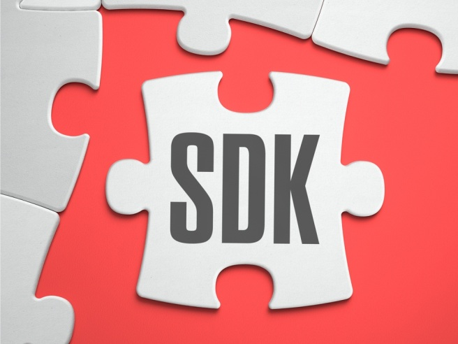sdk-software-development-kit-text-on