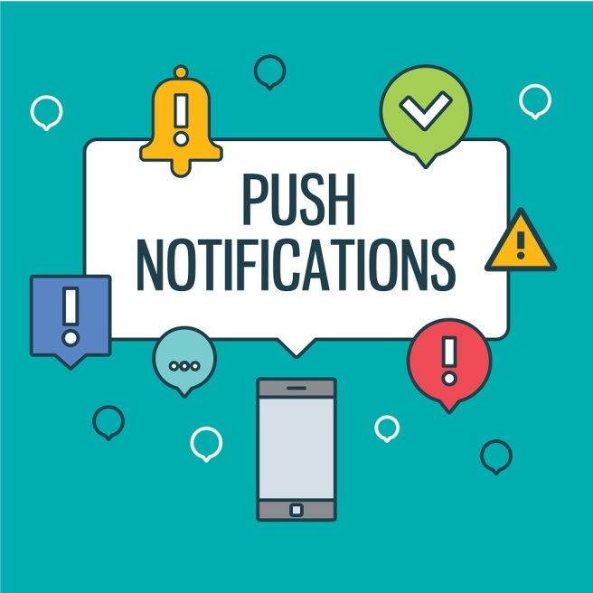 app notification services