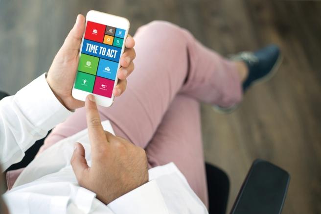 Mobile app offer walls